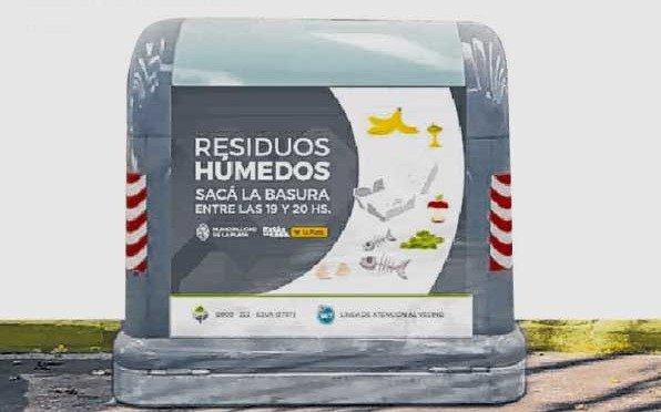 Presentan oficialmente los contenedores de residuos
