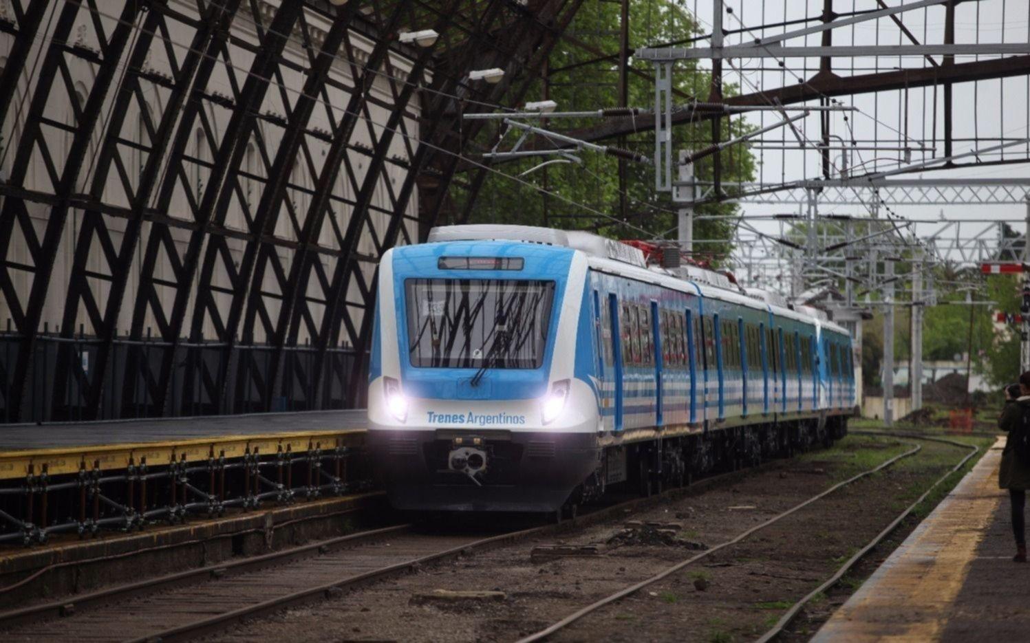 Usuarios del Roca ya pueden saber en tiempo real cuándo llega el tren