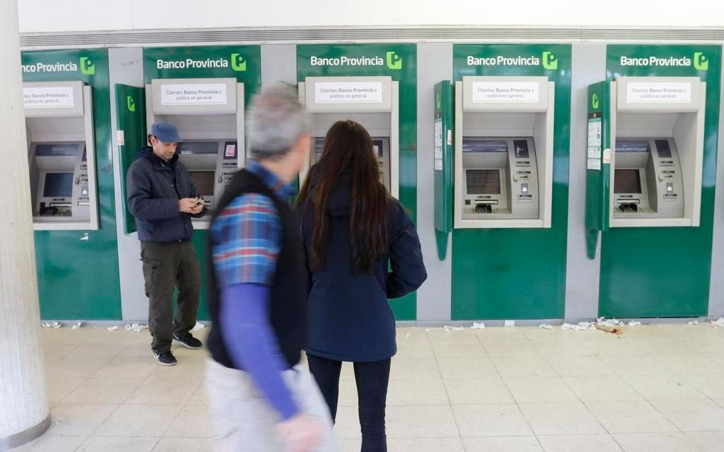 Nueva falla en los cajeros automáticos que perjudica a los usuarios