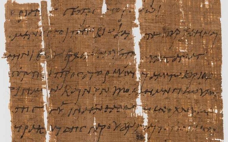Identifican al manuscrito cristiano más viejo del mundo