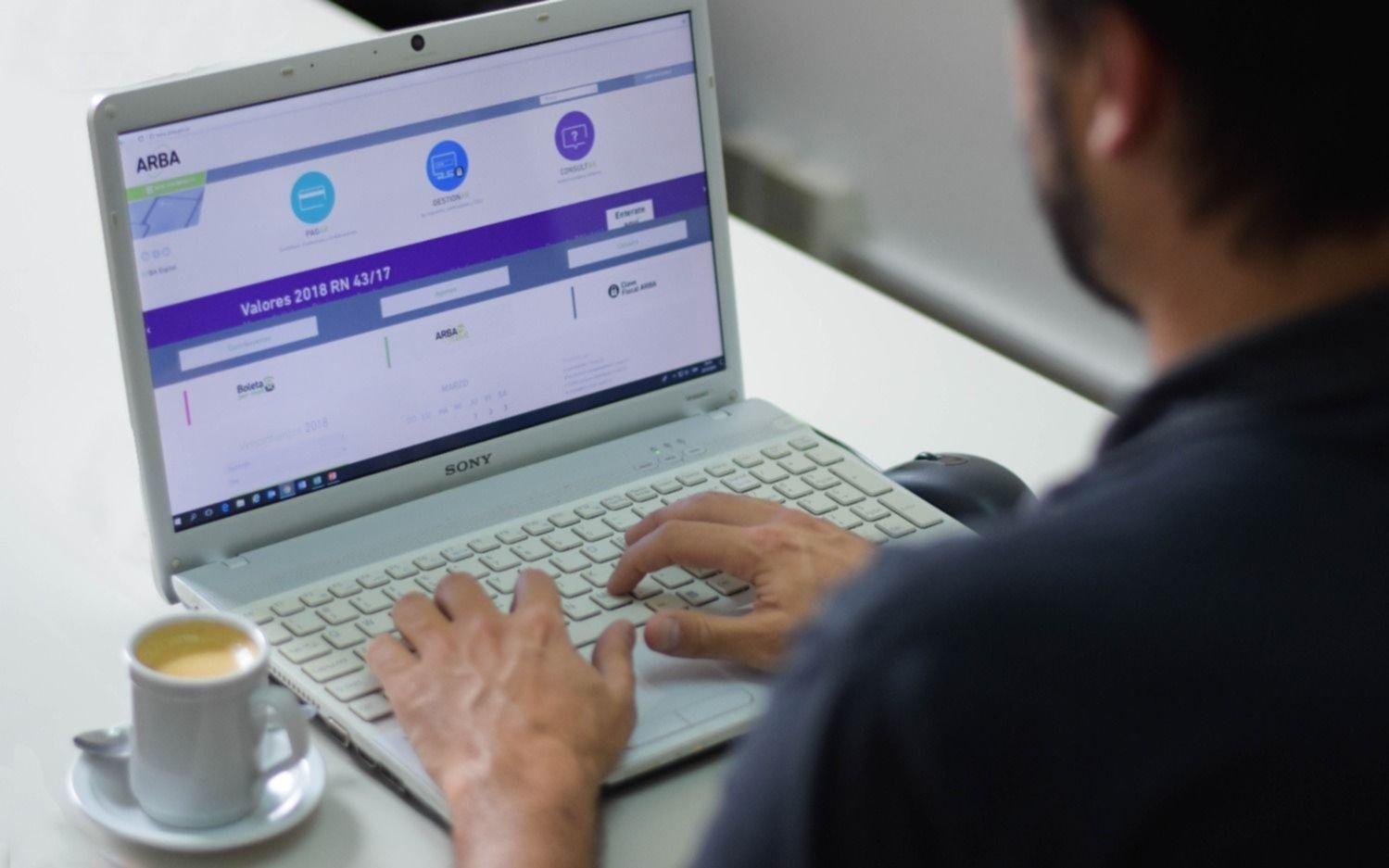 Contribuyentes bonaerenses con crédito fiscal con ARBA recibirán devolución en 3 días