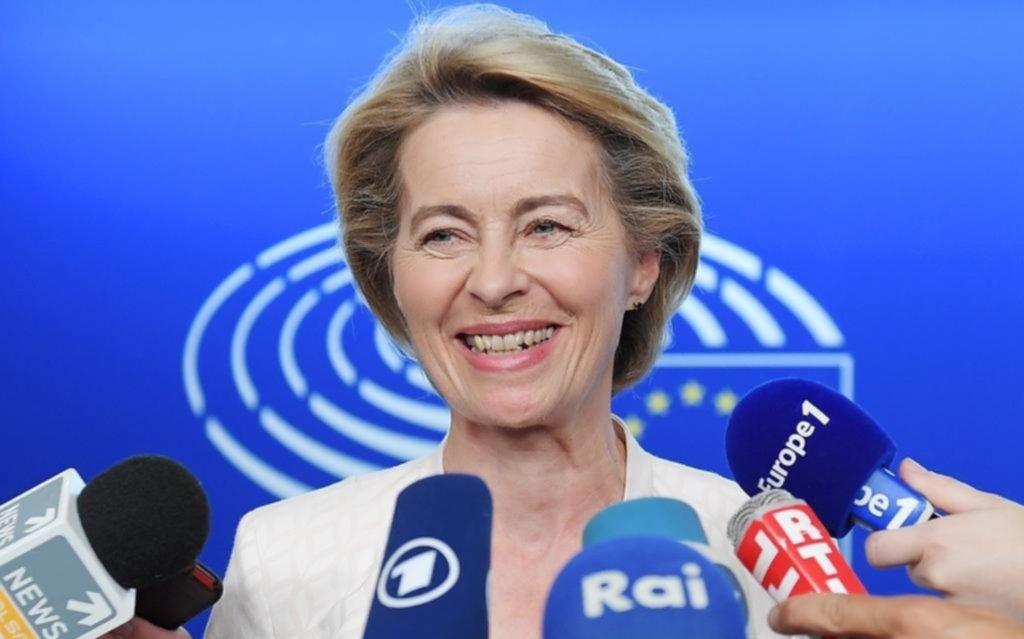 Confirman como nueva titular de la Unión Europea a una alemana próxima a Merkel