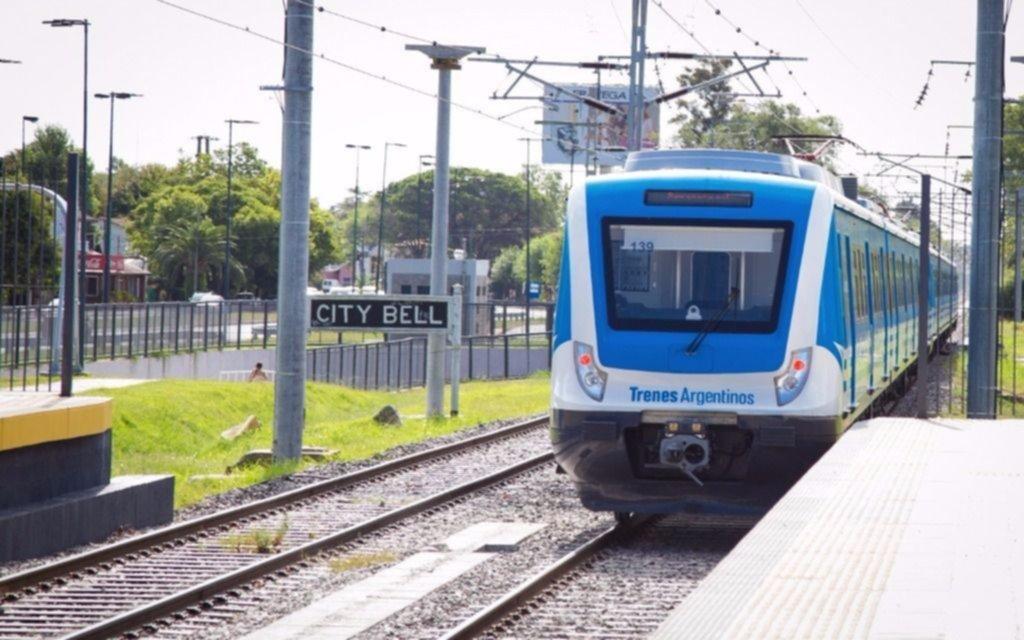 Horarios del tren a La Plata