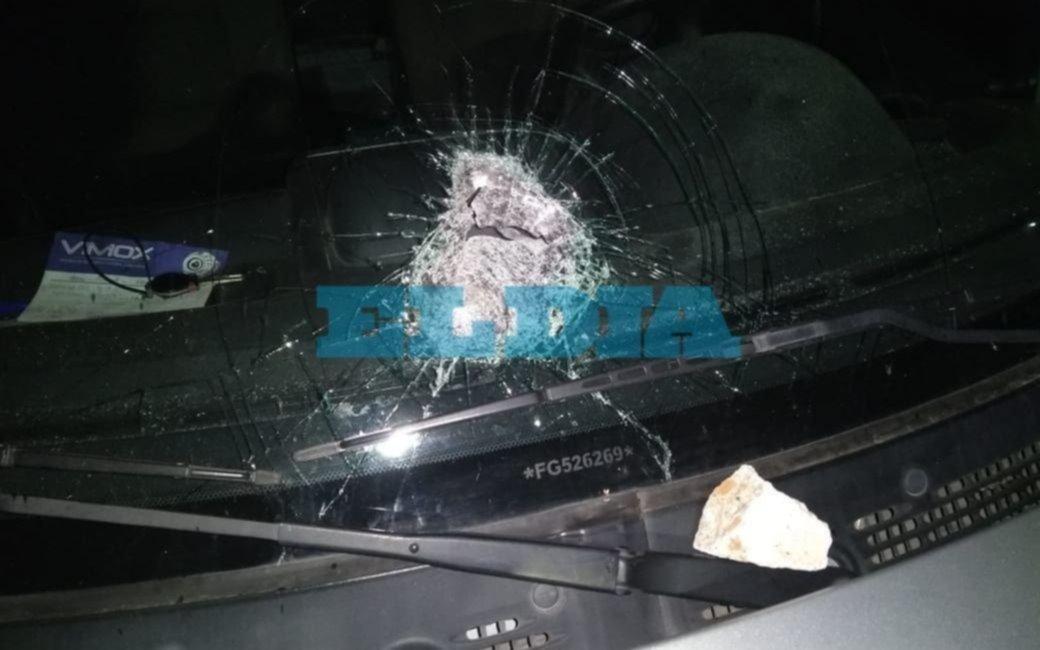 La seguridad en la Autopista desafiada por ataques a pedradas