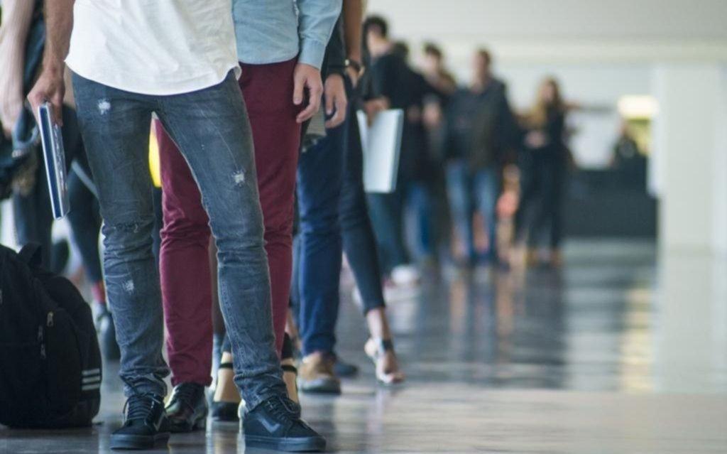 Desempleo juvenil, en alza