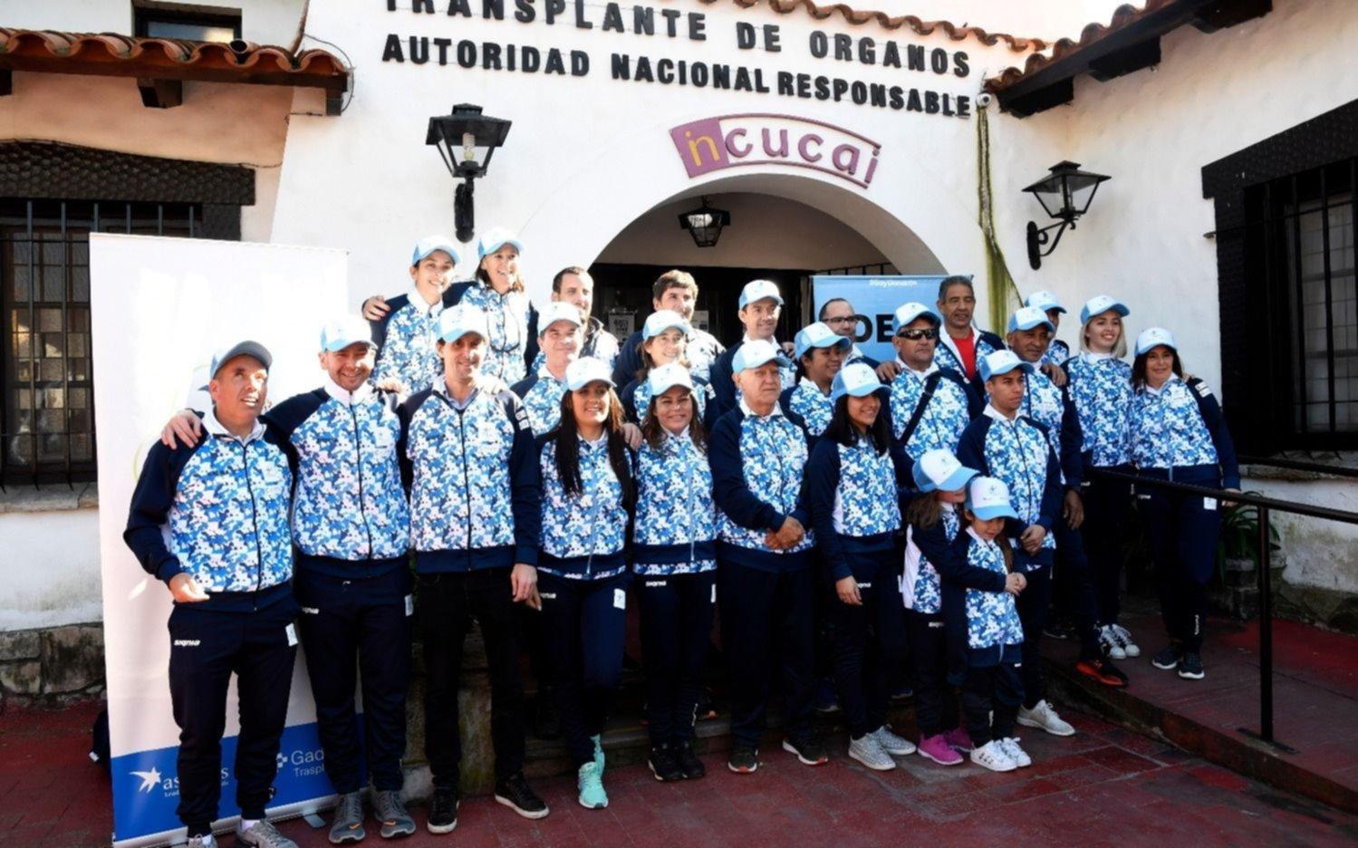Mundial para Trasplantados: participarán 40 argentinos