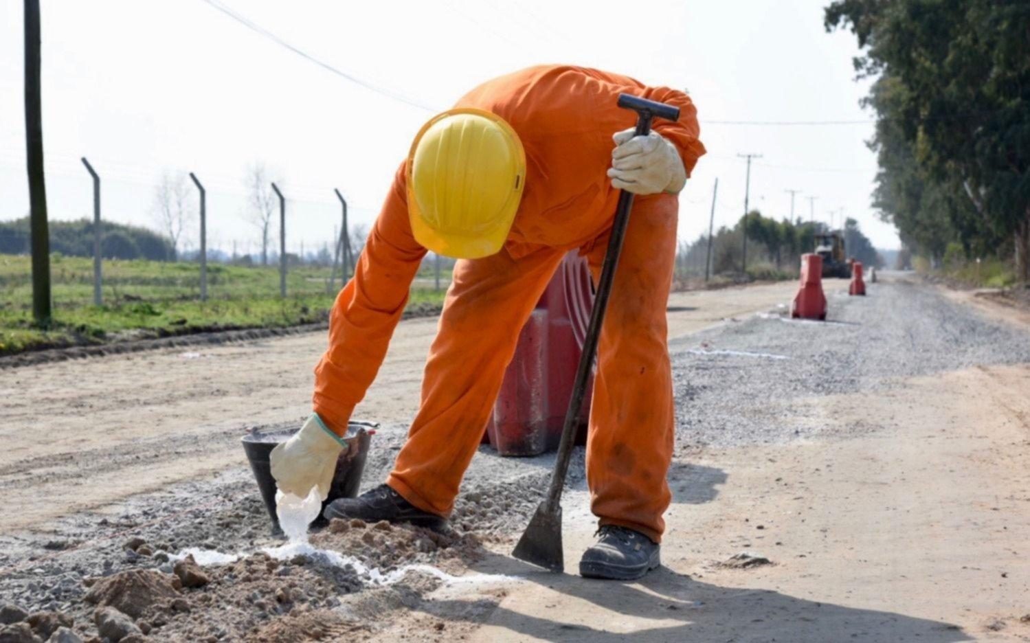 Completan la pavimentación del casco fundacional platense