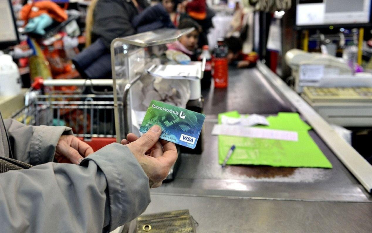 El Bapro volverá a aplicar hoy y el miércoles 28 los descuentos del 50% en supermercados