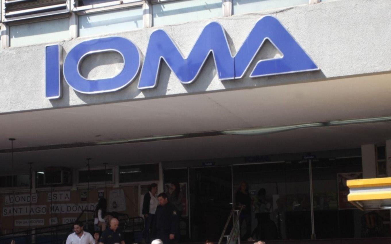 IOMA evalúa ir a la Justicia por aumento de bonos