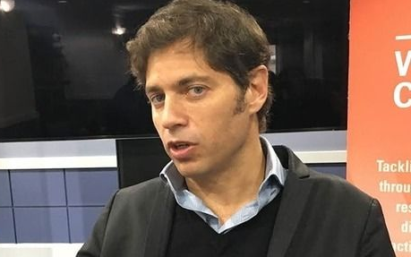 Kicillof, con el PJ bonaerense y la mira en la campaña