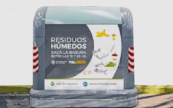 Colocaron nuevos contenedores de basura en un sector de Tolosa