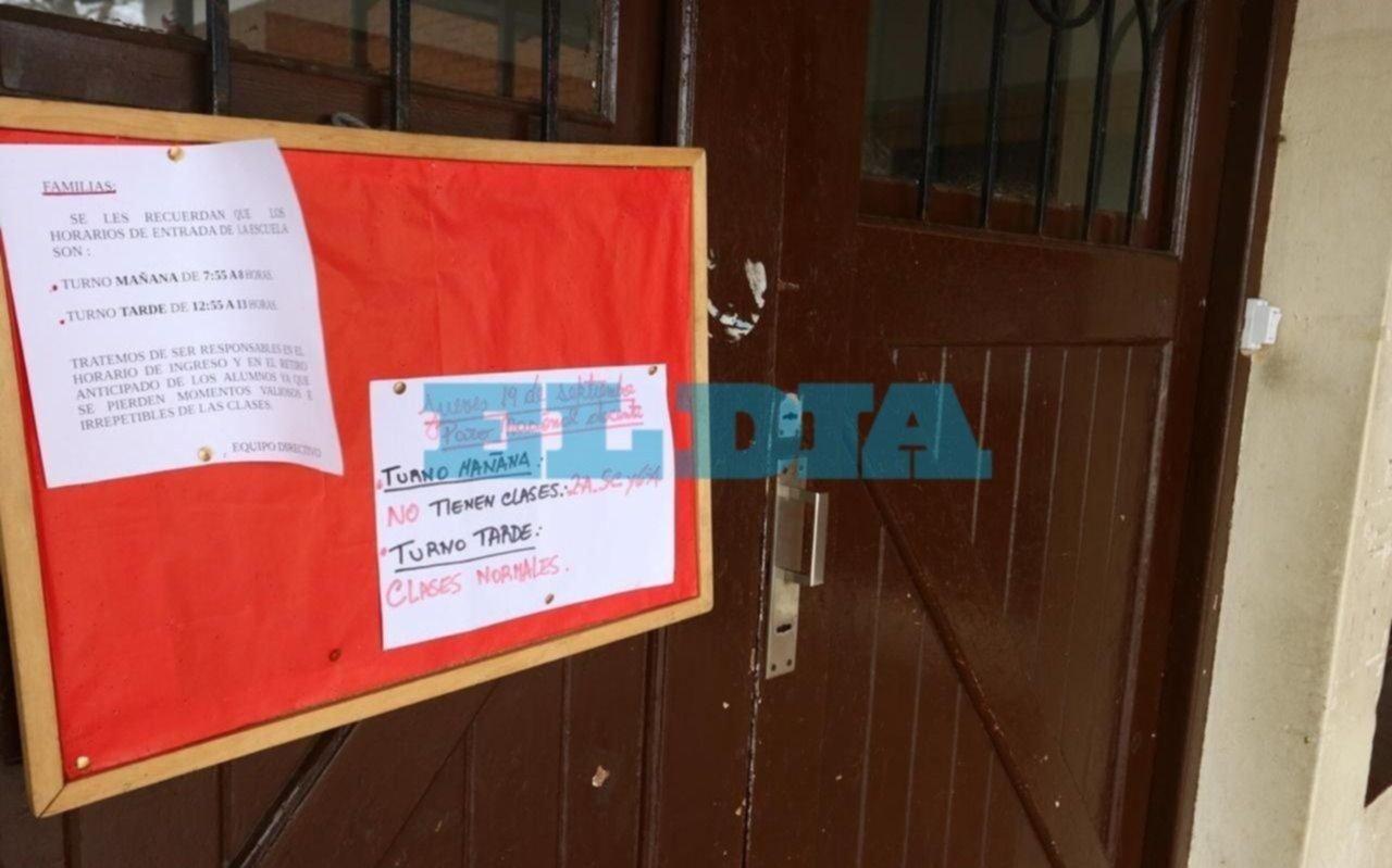 Se sintió en la Ciudad la huelga docente por la crisis de Chubut