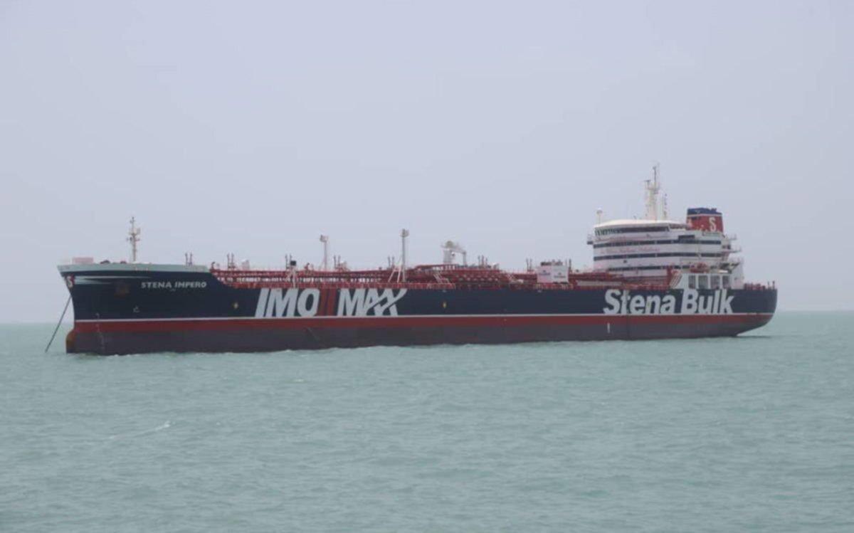 Irán anuncia la liberación inminente del petrolero británico 'Stena Impero'