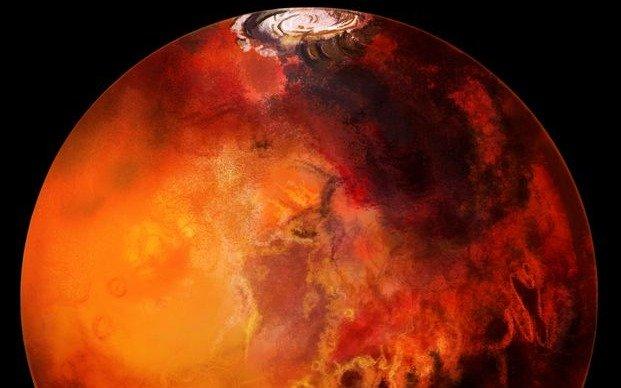 El agua de los lagos y ríos en Marte se evaporó hace 3.500 millones de años