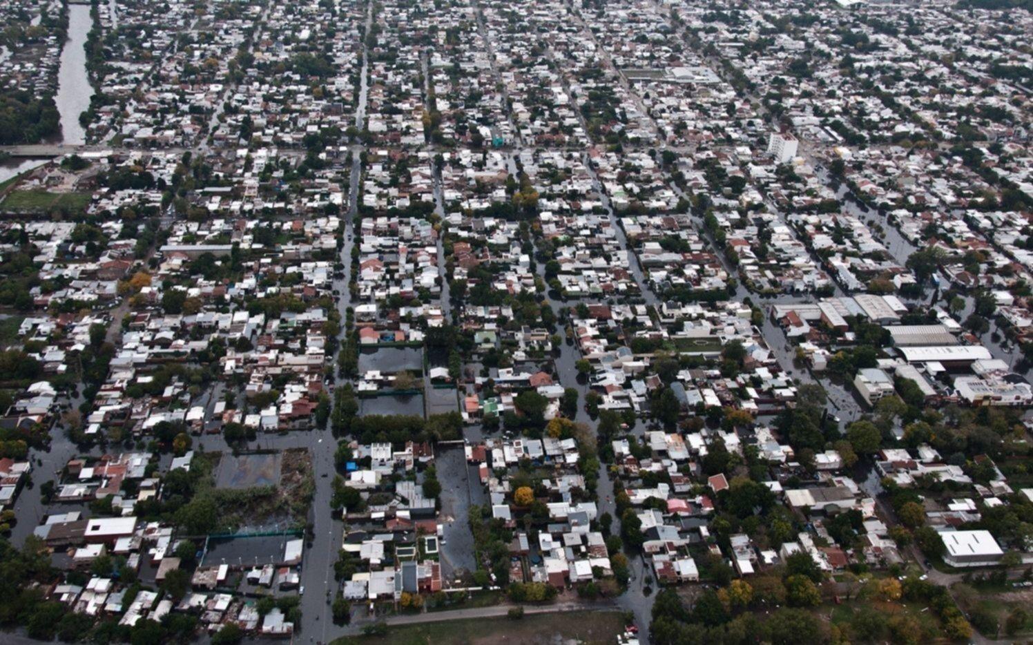 Los 350 barrios platenses ya cuentan con un plan de acción ante inundaciones