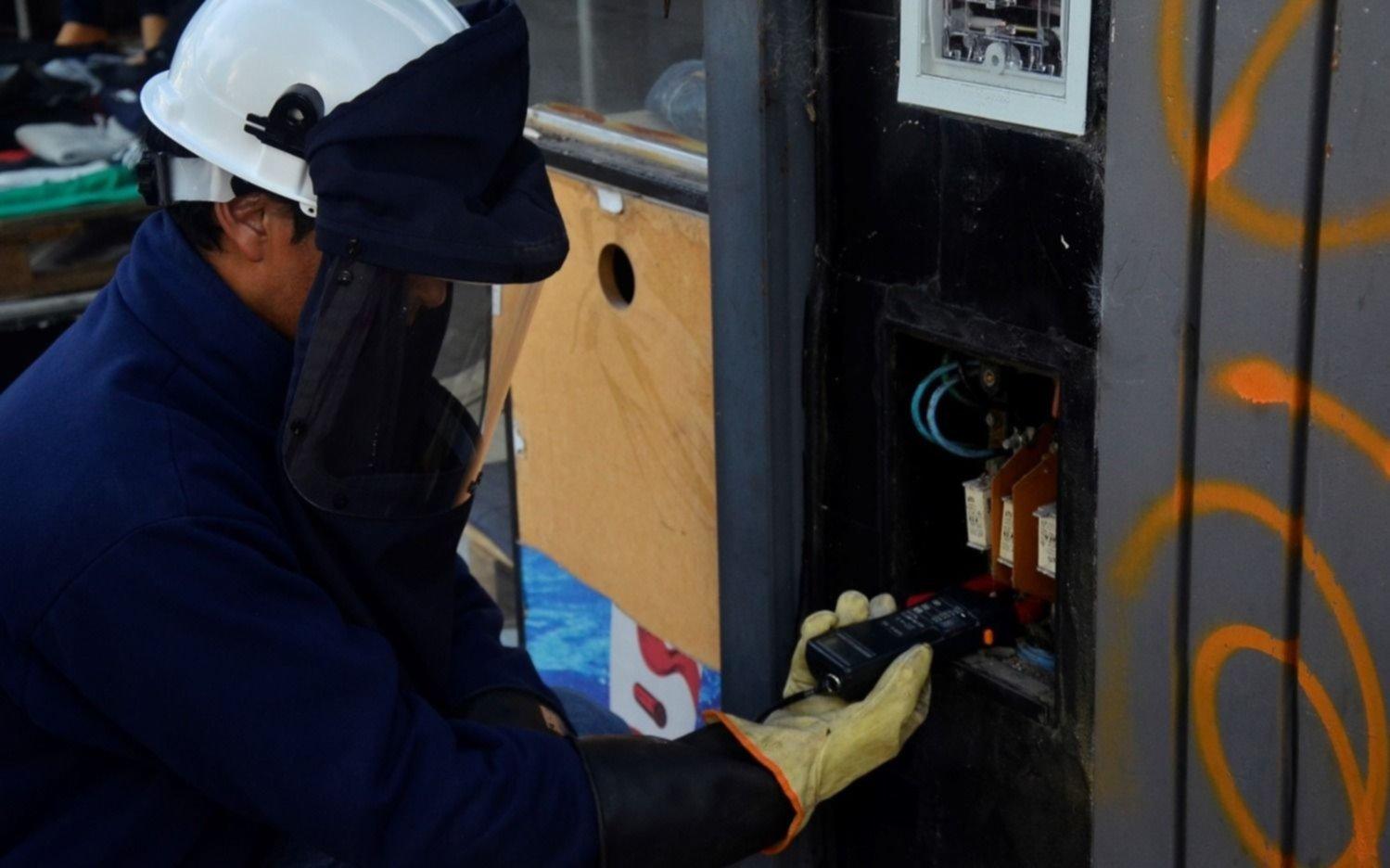 Cortes en el servicio de energía eléctrica programados para hoy en la Región
