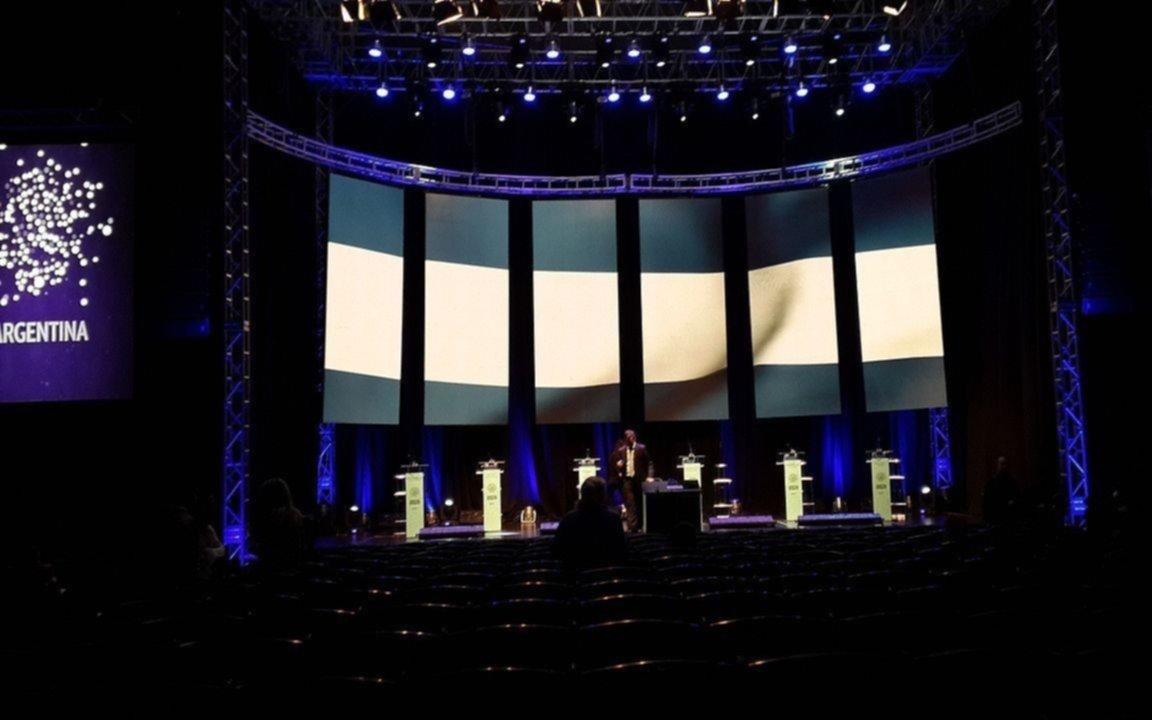 Se realiza en la UBA el segundo debate presidencial