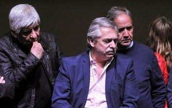 """El """"elegido"""", los """"gordos"""" y Hugo Moyano, todos unidos para la reunificación"""