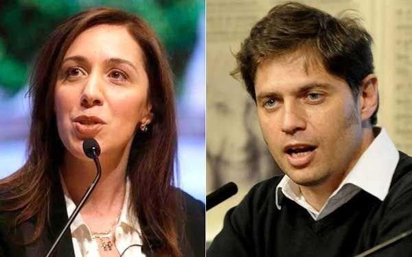 Tensiones y desconfianzas entre Vidal y Kicillof surcan la transición bonaerense