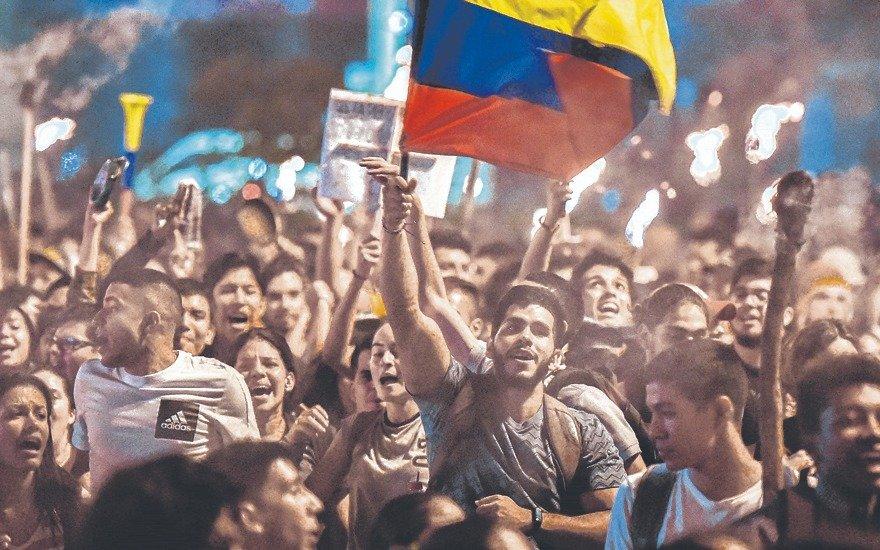 """Los """"hijos de la paz"""" ya no tienen miedo: en Colombia, los jóvenes lideran las protestas"""