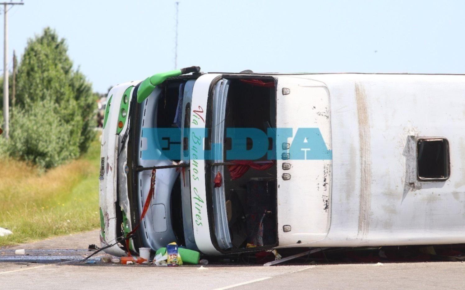 La fatalidad viaja en micros de dos pisos: 66 muertes y 270 heridos en tres años
