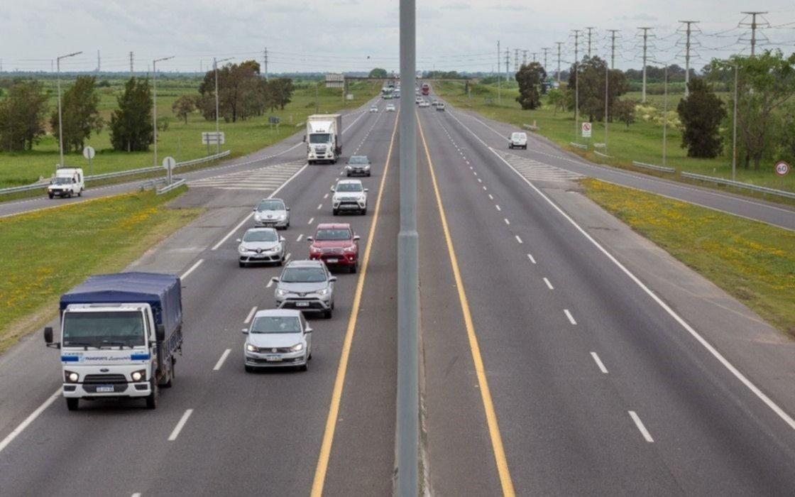 Más cortes alternados en la Autopista La Plata - Buenos Aires de 23 a 3:30