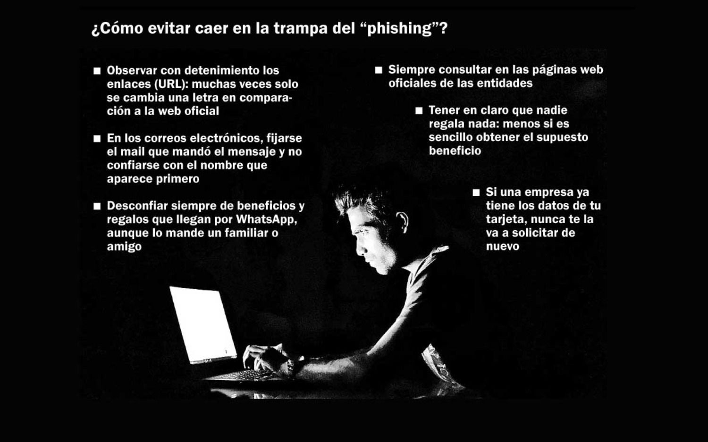 Ciberladrones: platenses en alerta por estafas para robar datos personales