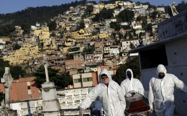 Brasil: por la pandemia, la actividad económica se retrajo 9,73% en abril
