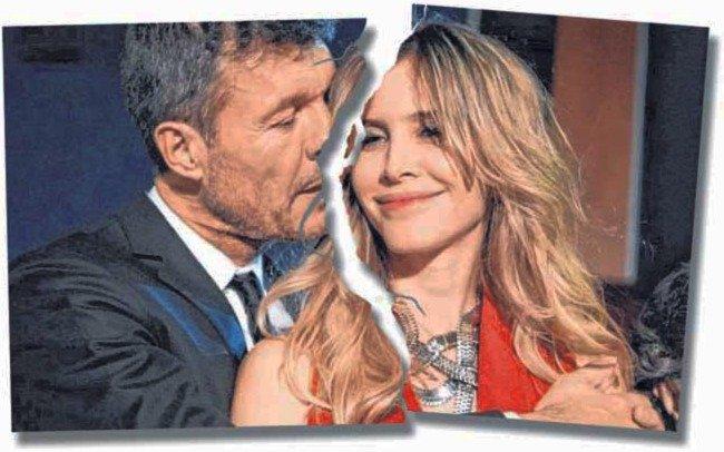 Tinelli y Valdés, separados: otro amor que la cuarentena se lleva puesto