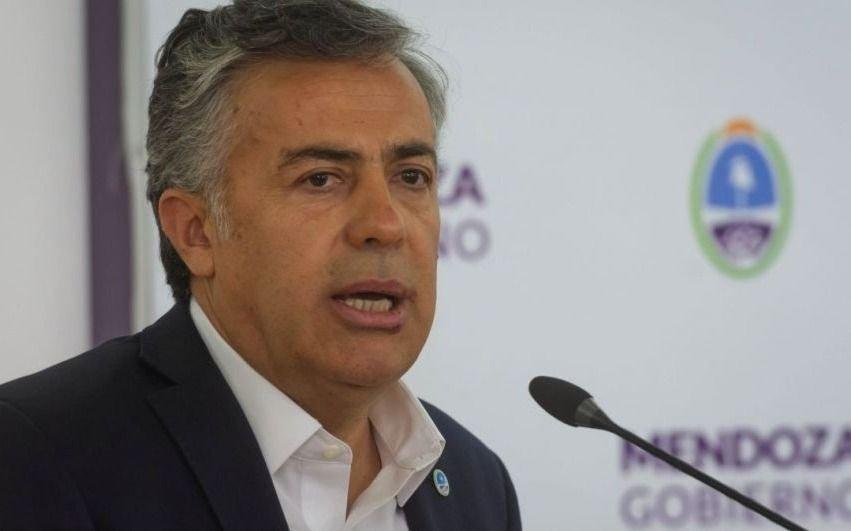 El radical Cornejo pide a Nación informes de cómo reparte los recursos
