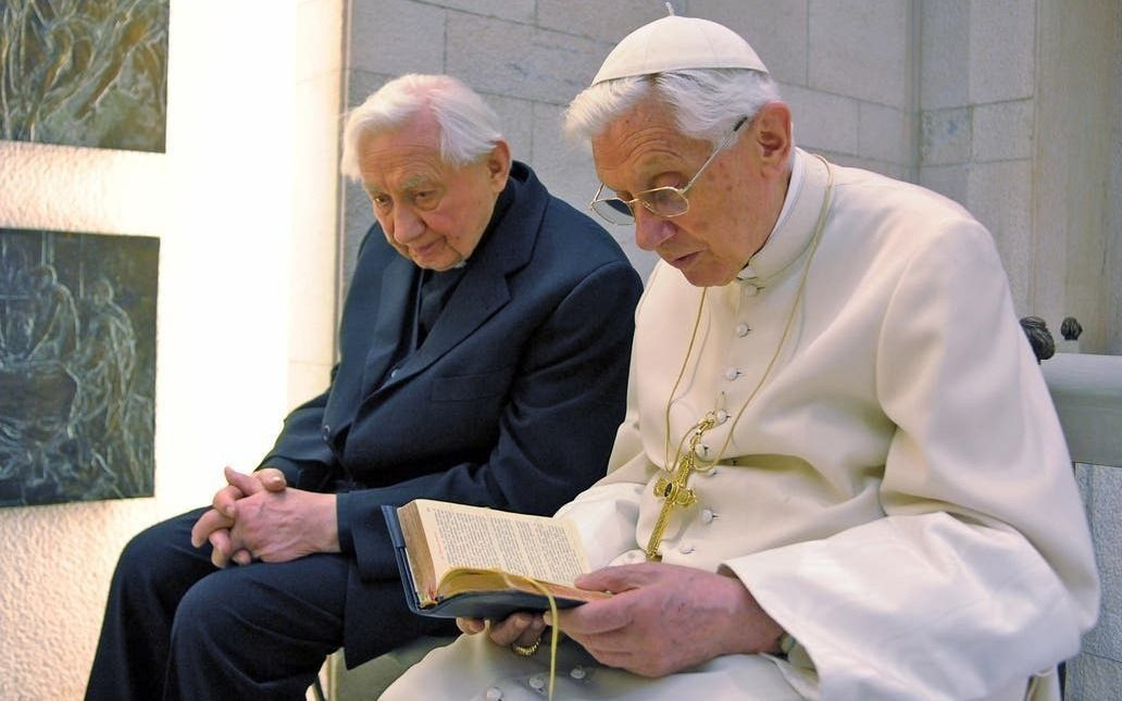 Murió en Alemania Georg Ratzinger, hermano del papa emérito Benedicto XVI