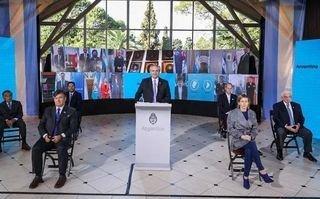 Fernández llamó a crear una sociedad más justa