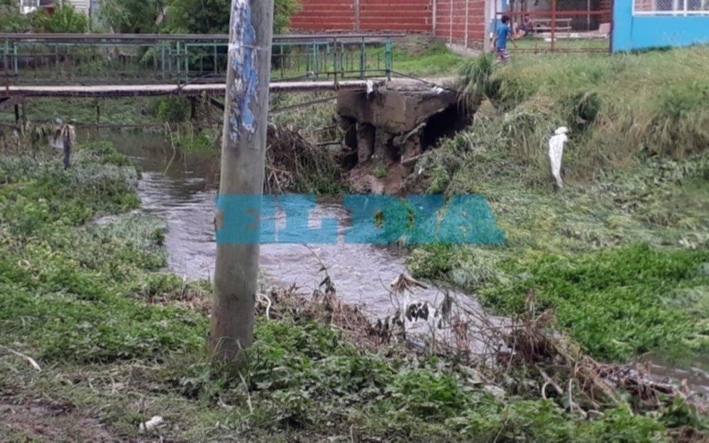 Preocupación por fuertes olores en el cauce del arroyo Rodríguez