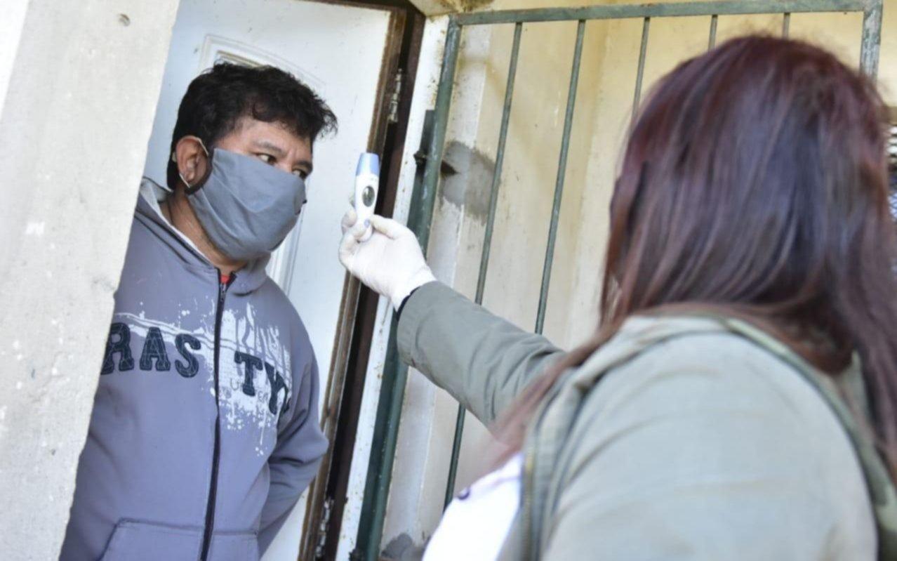 Evaluaron a más de 3.000 vecinos en la búsqueda de casos de coronavirus