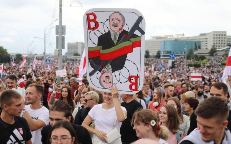 En Bielorrusia no ceden las protestas contra el presidente reelecto