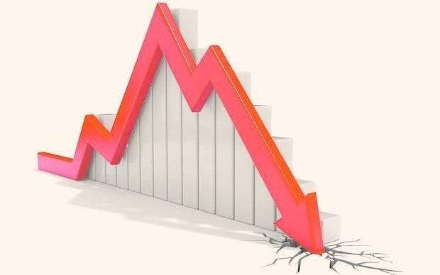 Wall Street cayó 1,84 %  en un día muy volátil