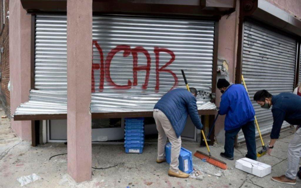Toque de queda en Filadelfia para intentar frenar la rebelión popular