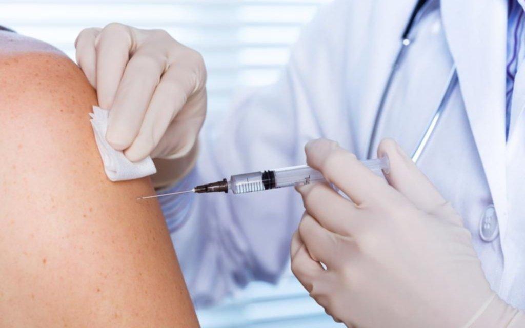 Sigue en niveles muy bajos la vacunación en la Provincia