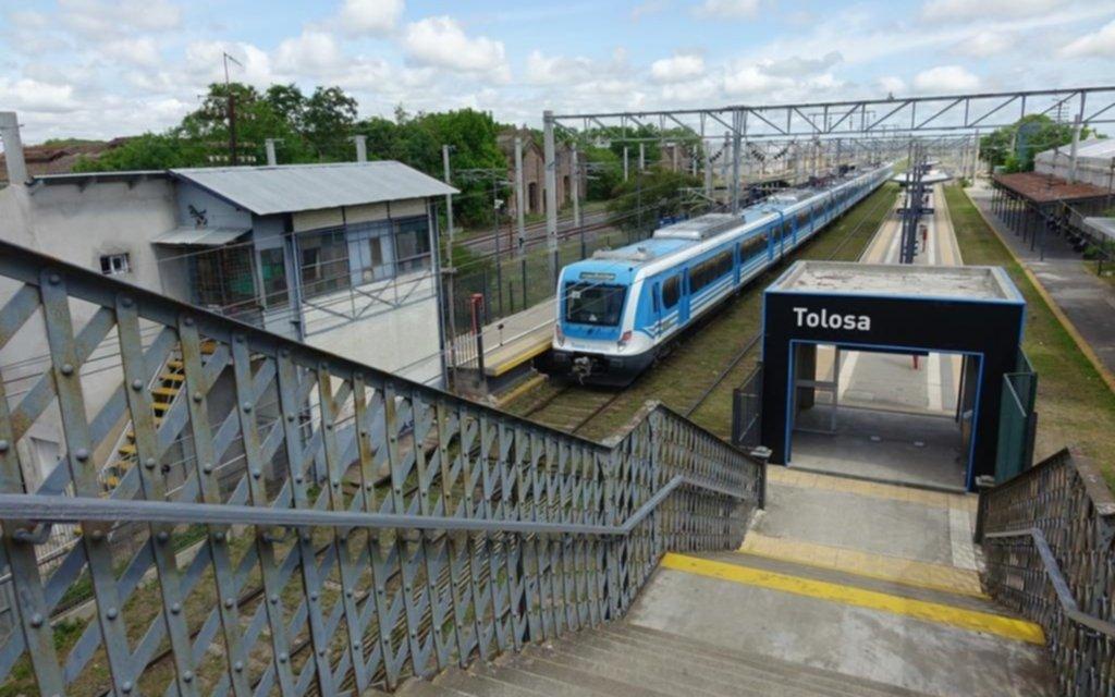 Atendible reclamo por un enlace con la estación Tolosa