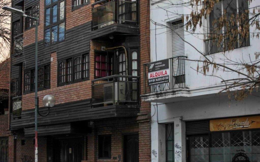 Muchas oficinas vacías en un proceso de crisis que desafía a la Ciudad