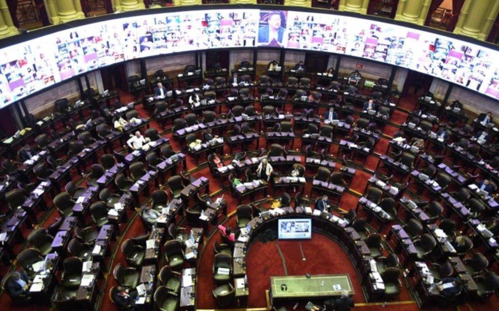 Diputados trataría la moratoria provincial