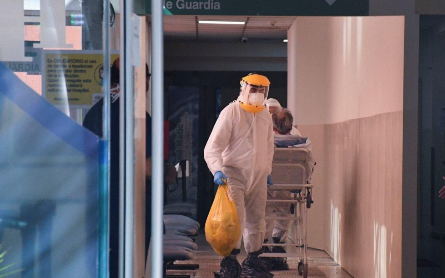 Más de 22 mil contagios en el país, 708 de ellos en la Ciudad