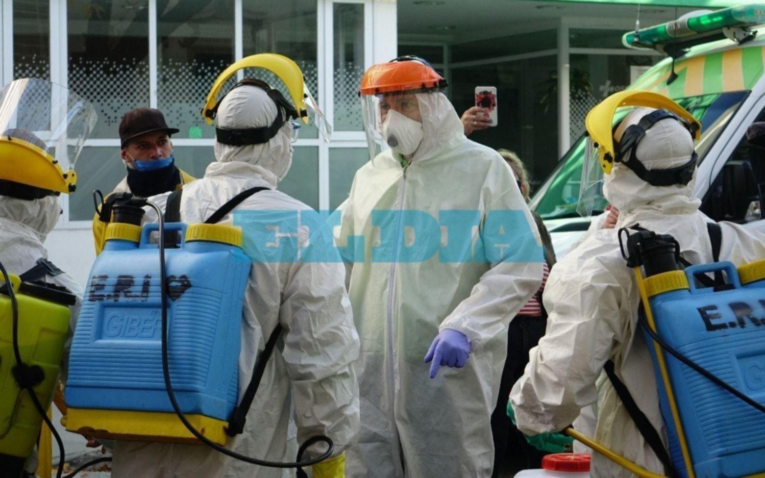 Confirman 82 muertes y 1.168 nuevos contagios en La Plata en tres días