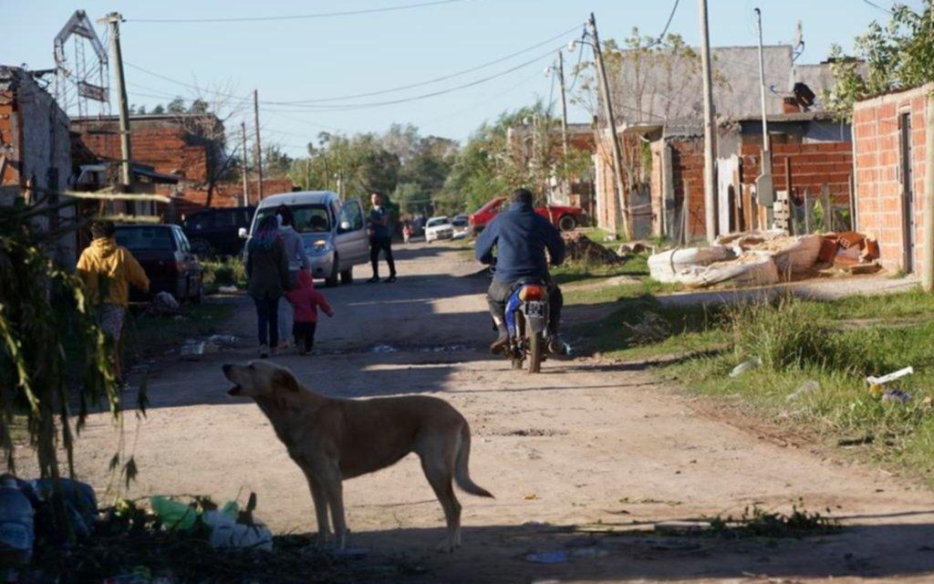 El estado de los barrios vulnerables se agrava y preocupa la llegada del frío