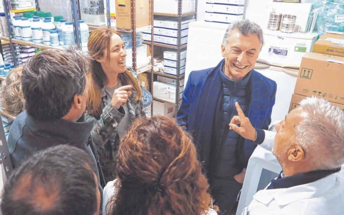 """""""Este es el país que está en marcha"""", dijo Macri en Olavarría junto a la Gobernadora"""