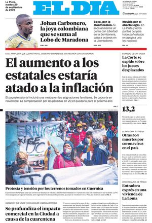 Tapa de la Edición Impresa
